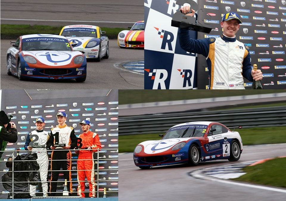 Double Podium for Toth-Jones at Rockingham