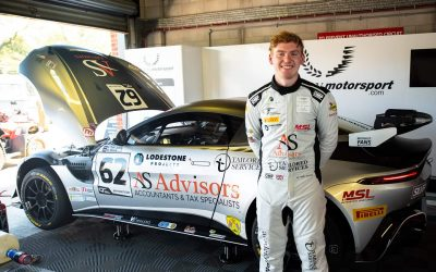 Alex makes his debut in British GT GT4 Oulton Park
