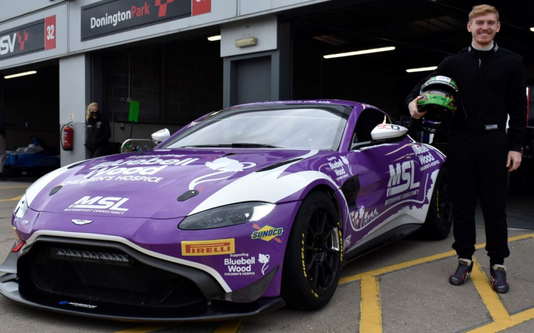 Alex makes the move back to Aston Martin GT4