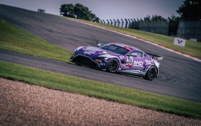 Team Bluebell at Donington Park for the GT Cup