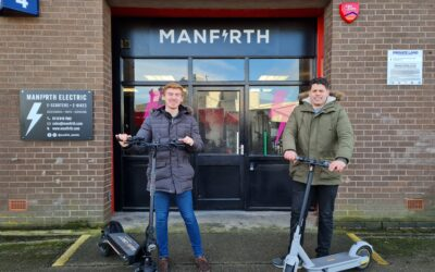 Manfirth E Scooter Partnership Announcement